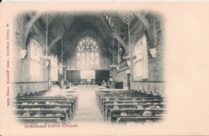Birkenhead School – Chapel interior