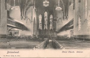 Christ Church, interior