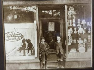 Confectioner's, 37 Rose Mount, owned by the Peever family from 1914. They also owned a dairy at no. 35