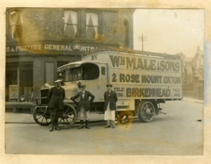 William Male arrived at 2 Rosemount in 1881 to start a 40 year stay as William Male and Sons