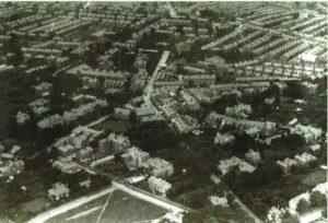 Oxton aerial photo 1920