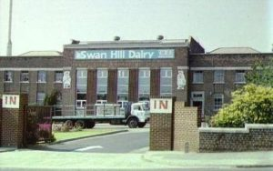 Swan Hill Dairy, built 1931, employed 60 people and supplied milk to 40,000 Wirral households