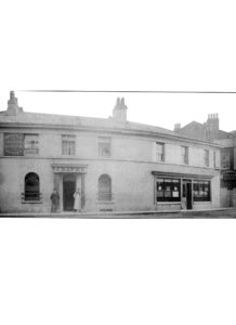 Talbot Hotel, Claughton Firs. Built between 1847 & 1875 in a curve round the bend between Rose Mount and Claughton Firs. Demolished 1967, rebuilt 1969 as Oxton Arms