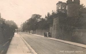 "Ladies College, Christchurch Rd. In the 1911 Census it was shown as the ""Claughton College and Music Academy"""